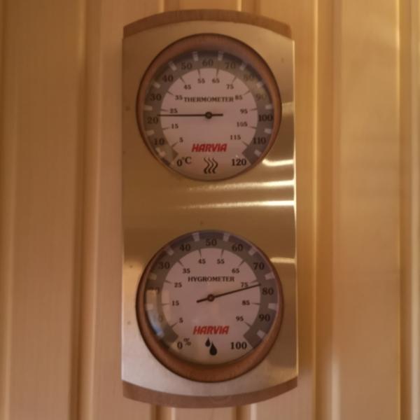 サウナ室内温度計
